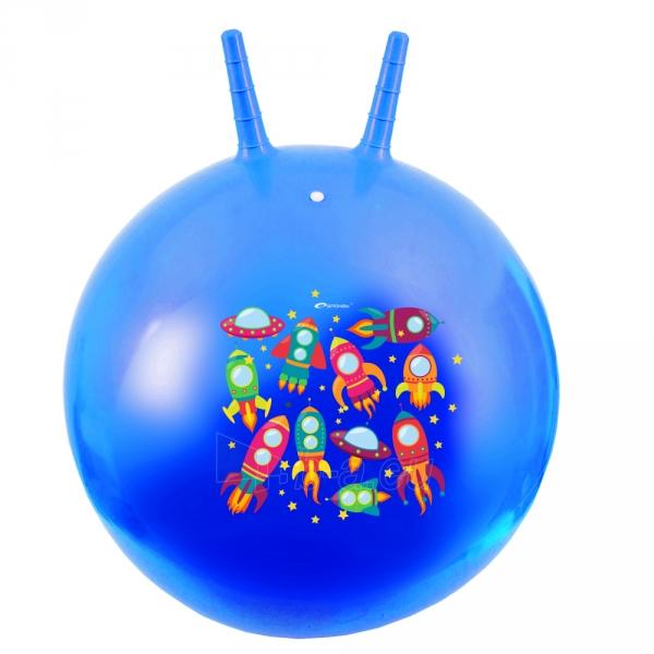 Šokinėjimo kamuolys Spokey Space Quest, 60 cm Paveikslėlis 1 iš 1 310820040648