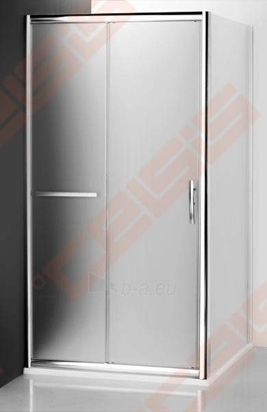 Šoninė dušo sienelė ROLTECHNIK PROXIMA LINE PXBN/90 durims PXDO1N ir PXD2N su brillant spalvos profiliu ir satinato stiklu Paveikslėlis 2 iš 4 270770000392