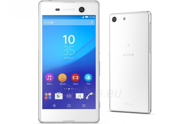 Išmanusis telefonas Sony E5603 Xperia M5 white Paveikslėlis 1 iš 3 310820154955