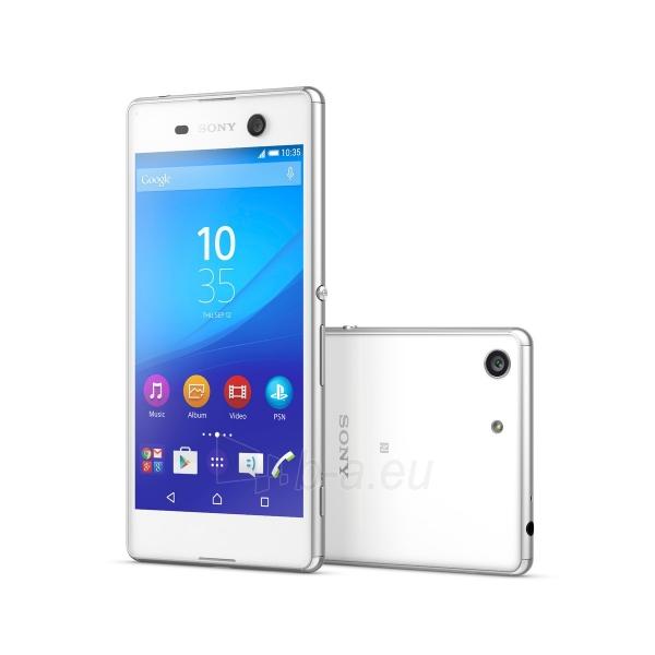 Išmanusis telefonas Sony E5603 Xperia M5 white Paveikslėlis 3 iš 3 310820154955