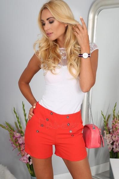Shorts Elif (raudonos spalvos) Paveikslėlis 1 iš 4 310820045503