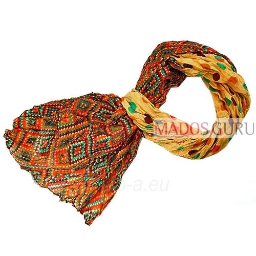 Colourful scarf MSL669 Paveikslėlis 1 iš 1 30063100591