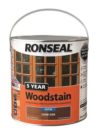 Dažyvė spalvota medienos 5 Year Woodstain 2.5 l. Paveikslėlis 1 iš 1 236860000477