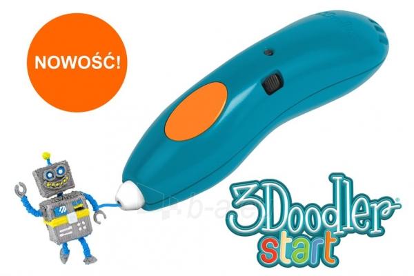 Spausdintuvas 3DOODLER 3Doodler Start - 3D pen, manual 3D printer for Kids (Essentials) Paveikslėlis 1 iš 9 310820104678