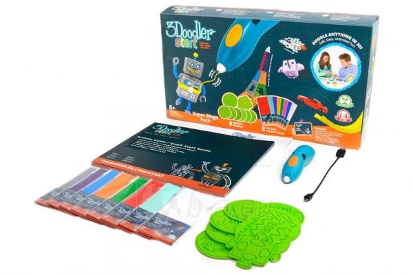 Spausdintuvas 3DOODLER 3Doodler Start - 3D pen, manual 3D printer for Kids (Essentials) Paveikslėlis 5 iš 9 310820104678