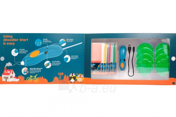 Spausdintuvas 3DOODLER 3Doodler Start - 3D pen, manual 3D printer for Kids (Essentials) Paveikslėlis 6 iš 9 310820104678