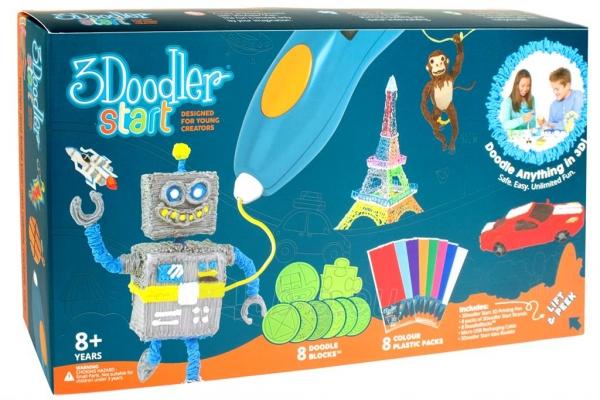 Spausdintuvas 3DOODLER 3Doodler Start - 3D pen, manual 3D printer for Kids (Essentials) Paveikslėlis 7 iš 9 310820104678