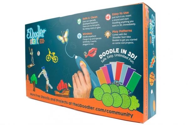 Spausdintuvas 3DOODLER 3Doodler Start - 3D pen, manual 3D printer for Kids (Essentials) Paveikslėlis 8 iš 9 310820104678