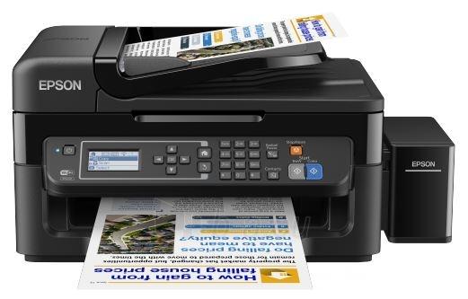 Spausdintuvas EPSON Inkjet printer L565 MFP USB/WiFi Paveikslėlis 1 iš 1 310820219132