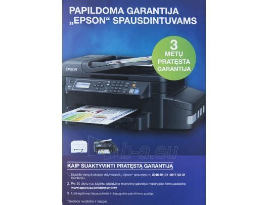 EPSON L220 rašalinis spausdintuvas Paveikslėlis 3 iš 3 310820040015