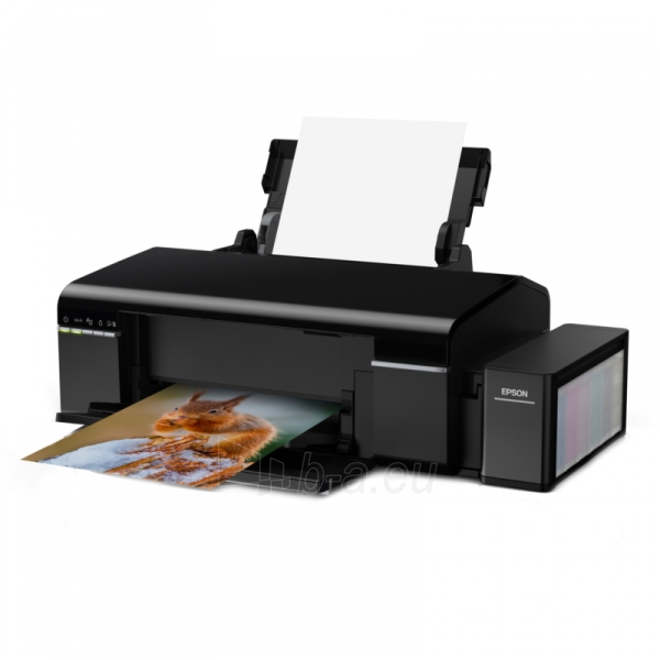 Spausdintuvas Epson L805 Inkjet Photo printer / 6 Ink Cartridges / 37ppm mono/ 38ppm color / USB / Wifi / Paper tray 120 Sheets / Prints on CD / DVD Paveikslėlis 5 iš 5 310820014444