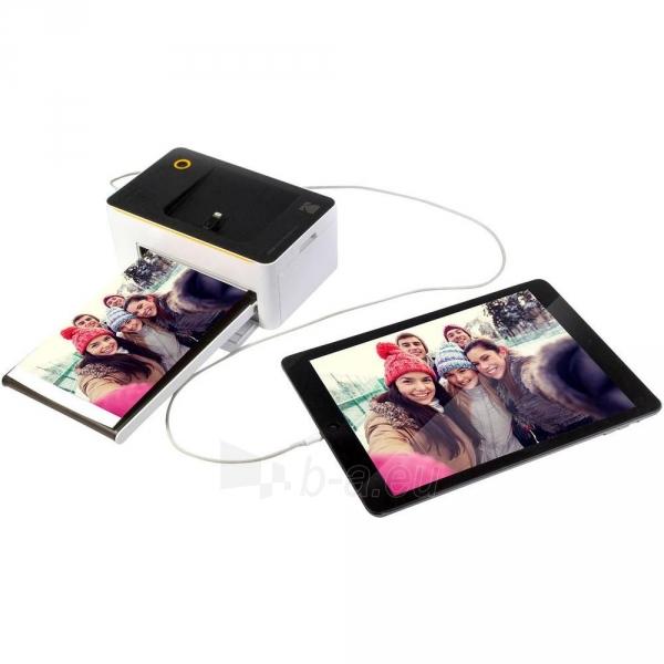 Spausdintuvas Kodak PD450 Printer Dock Wifi Black and White Paveikslėlis 6 iš 7 310820205780