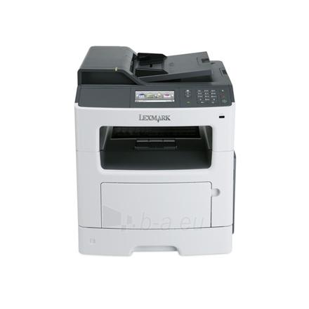 Spausdintuvas Lexmark MX410de Multifunction Mono Laser Printer Paveikslėlis 1 iš 4 250253410391