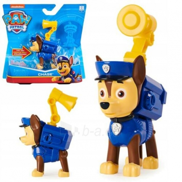 Spin Master PAW PATROL CHASE 6022626 Sounds When You Press His Badge Paveikslėlis 1 iš 6 310820252817