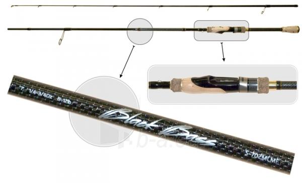 Spiningas SURF MASTER «BLACK BASS Spin TX-20» K1229 2X 1.93m Paveikslėlis 1 iš 1 310820198773
