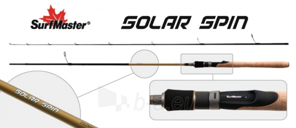 Spiningas SURF MASTER «SOLAR Spin TX-20» SP1125 2X Paveikslėlis 1 iš 1 310820198781