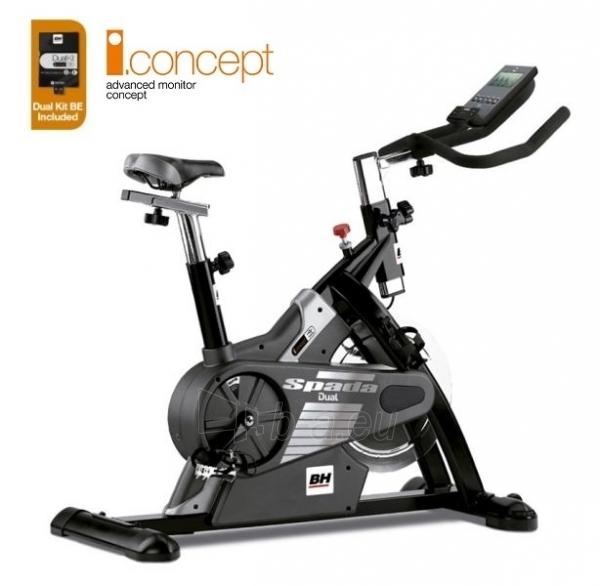 Spiningo dviratis BH FITNESS i.SPADA Dual Paveikslėlis 1 iš 2 310820024323