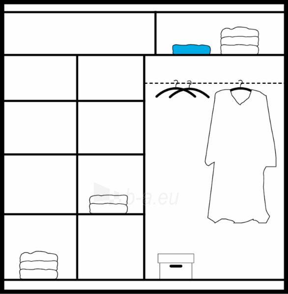 Cupboard CHELSEA Paveikslėlis 3 iš 3 250435000262