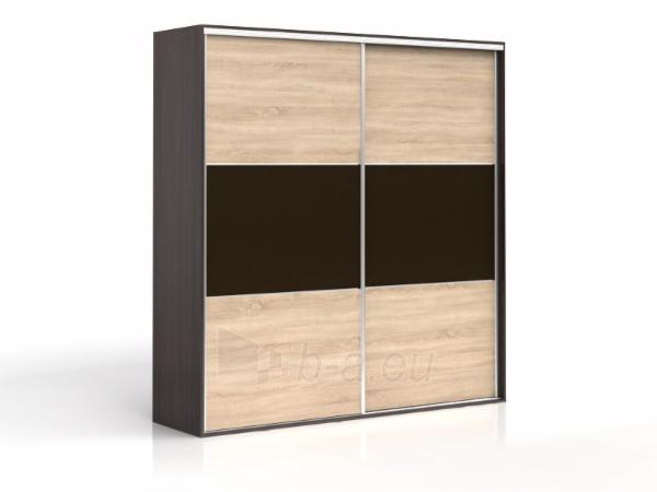 Cupboard F19 SZF2D/250 wenge/oak sonoma Paveikslėlis 1 iš 2 250435000173