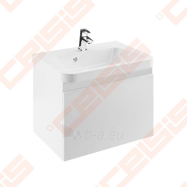 Spintelė praustuvui RAVAK 10˚ SD 550 x 450 x 450 mm, pilkos spalvos Paveikslėlis 1 iš 3 270760000056