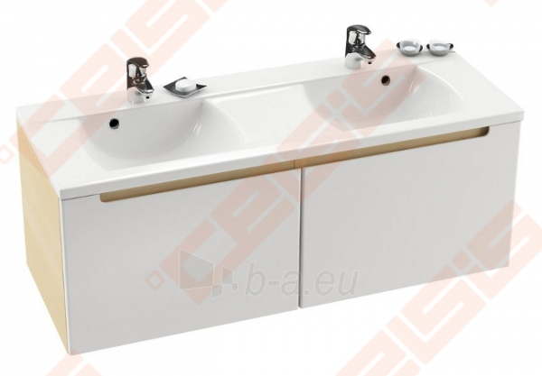 Spintelė praustuvui RAVAK CLASSIC SD 1300 x 490 x 470 mm, baltos spalvos Paveikslėlis 1 iš 5 270760000069