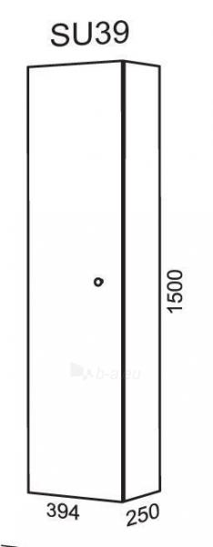 Spintelė ūkinė SU39 (pakabinama) Paveikslėlis 2 iš 2 250401000112