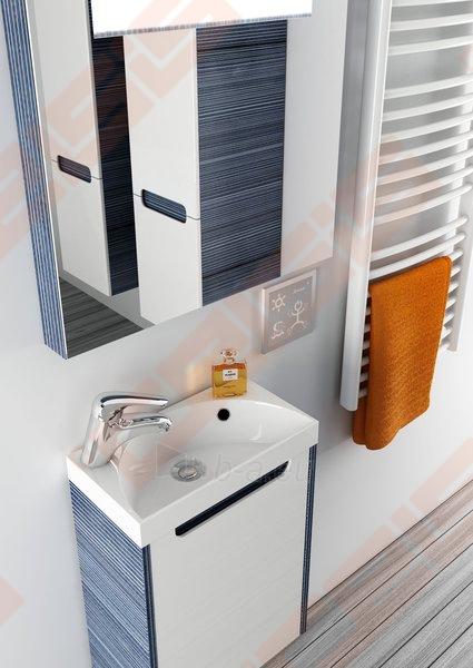 Spintelės korpusas mažam praustuvui RAVAK CLASSIC MINI SD 400 x 220 x 500 mm, espresso spalvos Paveikslėlis 4 iš 5 270760000095