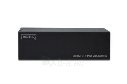 Spliteris Digitus 1xPC=>4xVGA, 400 MHz Paveikslėlis 3 iš 5 250251300117