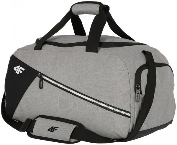Sportinis krepšys 4F H4Z19 TPU006 grey-black Paveikslėlis 1 iš 1 310820180221