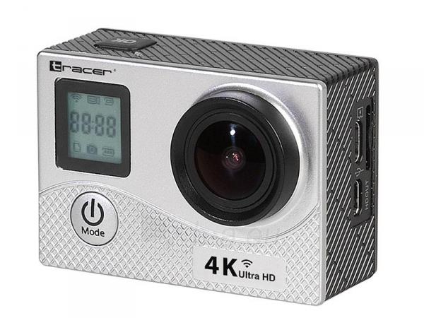 Sporto kamera TRACER eXplore SJ 4561 wi-fi 4K silver elegance Paveikslėlis 1 iš 4 310820143897