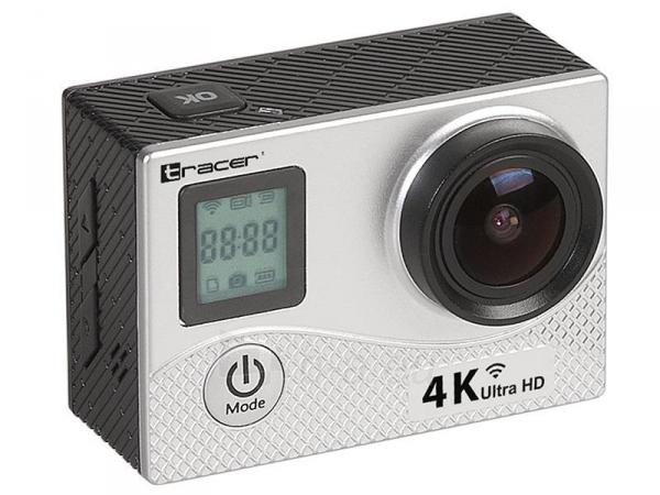 Sporto kamera TRACER eXplore SJ 4561 wi-fi 4K silver elegance Paveikslėlis 4 iš 4 310820143897