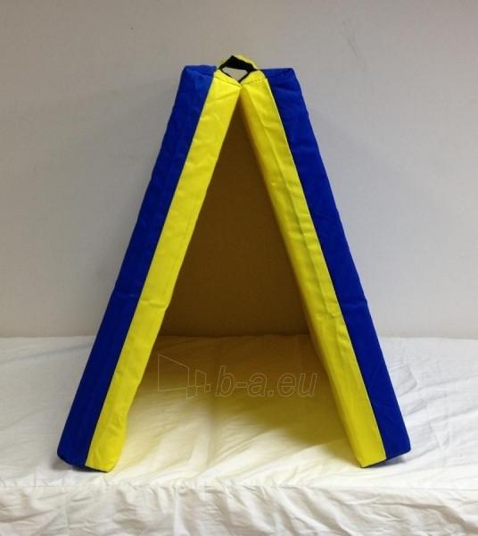 Sporto kilimėlis, 66 x 120 cm, mėlyna-geltona Paveikslėlis 1 iš 1 310820041025