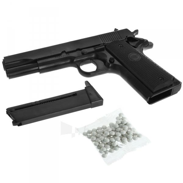 Šratasvydžio pistoletas Airsoftpistol STI M1911 Classic,spring, hop-up Paveikslėlis 2 iš 2 310820161981
