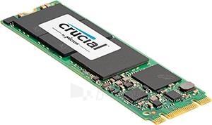 SSD Crucial MX200 500GB M.2 Type 2280SS SATA3, 555/500MBs, IOPS 100/87K Paveikslėlis 2 iš 2 250255521878