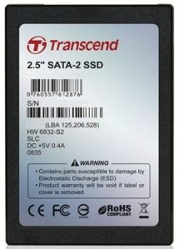 SSD Transcend 64GB SATA2, 265/225MBs, 64MB cache, 7mm Paveikslėlis 1 iš 1 250255511166