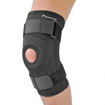 Stabilizuojantis kelio girnelės įtvaras Pharmacels Knee Brace PRO XL Paveikslėlis 1 iš 1 310820069182
