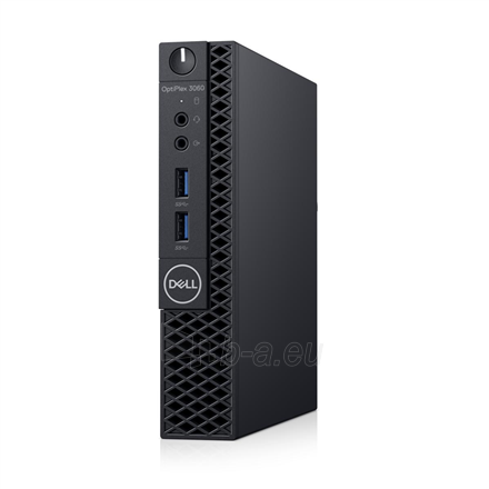 Stacionarus kompiuteris Dell OptiPlex 3060 Desktop, Micro, Intel Core i3, i3-8100T, Internal memory 8 GB, DDR4, SSD 256 GB, Intel HD, Keyboard language English, Linux, Warranty Basic Onsite 36 month(s) Paveikslėlis 1 iš 2 310820161377