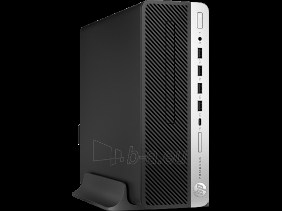 Stacionarus kompiuteris HP ProDesk 600 G3 SFF i3-7100 4GB 500GB DVD Win 10 Pro 64 + mysz + klaw Paveikslėlis 1 iš 4 310820118220
