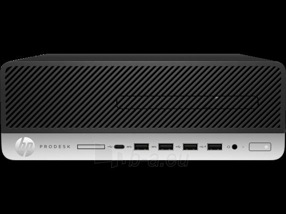 Stacionarus kompiuteris HP ProDesk 600 G3 SFF i3-7100 4GB 500GB DVD Win 10 Pro 64 + mysz + klaw Paveikslėlis 3 iš 4 310820118220