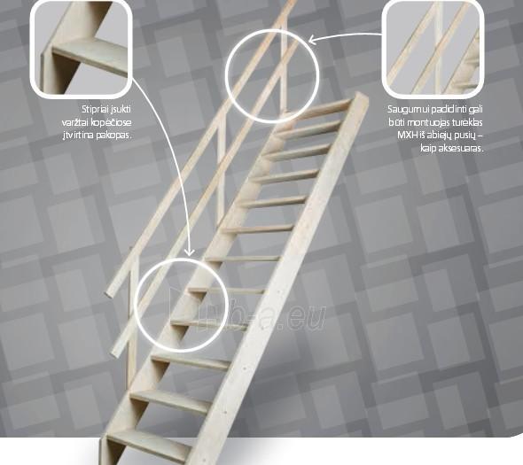 Stacionārās kāpnes MSS SUPERIOR 70 cm. Paveikslėlis 1 iš 3 310820038423
