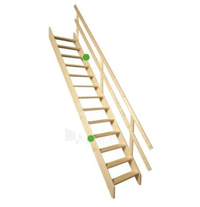 Stacionarūs laiptai MSU UNIVERSAL 65 cm. Paveikslėlis 2 iš 4 310820038405
