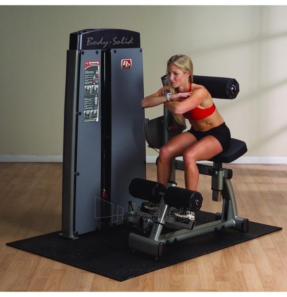 Staklės pilvo ir nugaros raumenims DABB-SF Body-Solid Pro-Dual Ab Crunch Paveikslėlis 2 iš 2 250575000226