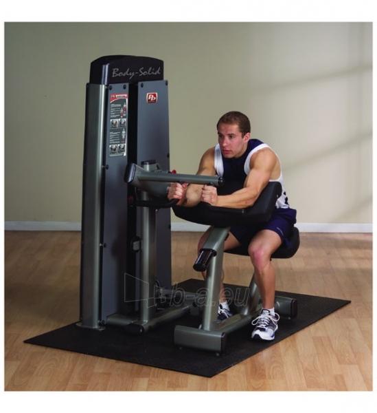 Staklės treniruoti bicepsams ir tricepsams DBTC-SF Body-Solid Pro-Dual Bicep Curl Paveikslėlis 3 iš 3 250575000227