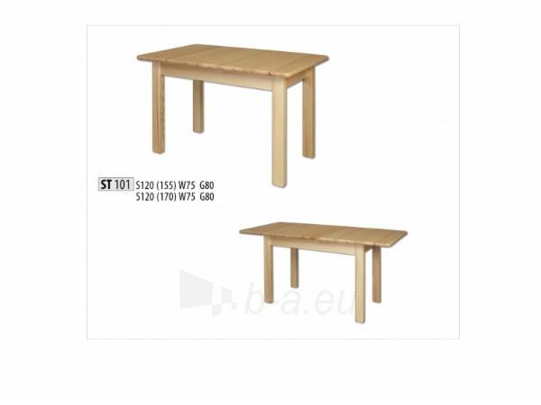 Stalas išskleidžiamas ST101 120/155 Paveikslėlis 1 iš 2 250405110082