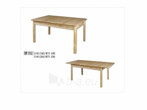 Stalas išskleidžiamas ST102 140/180 Paveikslėlis 1 iš 2 250405110084