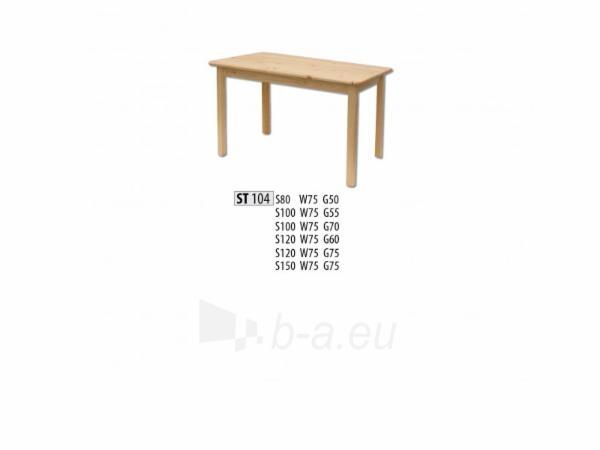 Stalas ST104 (100x75x70 cm) Paveikslėlis 1 iš 2 250405110090