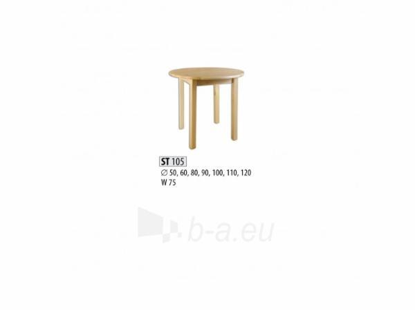 Stalas ST105 (90x75 cm) Paveikslėlis 1 iš 2 250405110097