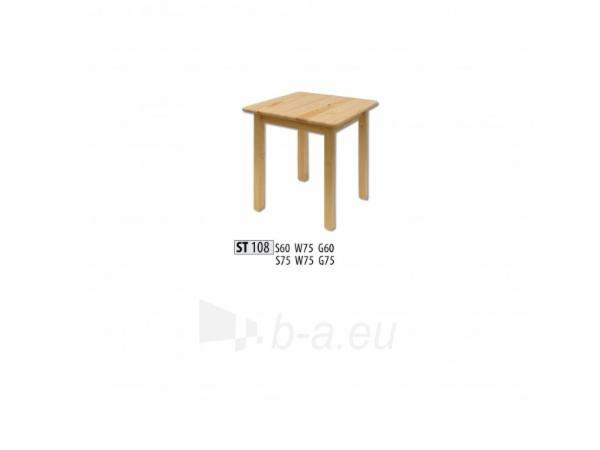 Stalas ST108 (60x75x60 cm) Paveikslėlis 1 iš 2 250405110104