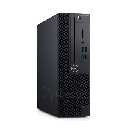 Stalinis kompiuteris Dell OptiPlex 3060 Desktop, SFF, Intel Core i5, i5-8500, Internal memory 8 GB, DDR4, SSD 256 GB, Intel HD, 8x DVD+/-RW 9.5mm Optical Disk Drive, Keyboard language English, Windows 10 Pro, Warranty Basic Next Business Day 36 month(s) Paveikslėlis 1 iš 2 310820147150