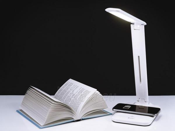 Stalinis lempa + USB įkrovimas + belaidis įkrovimas 5W TRACER Lumina Paveikslėlis 1 iš 9 310820182031